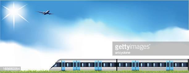 By Air or Railway