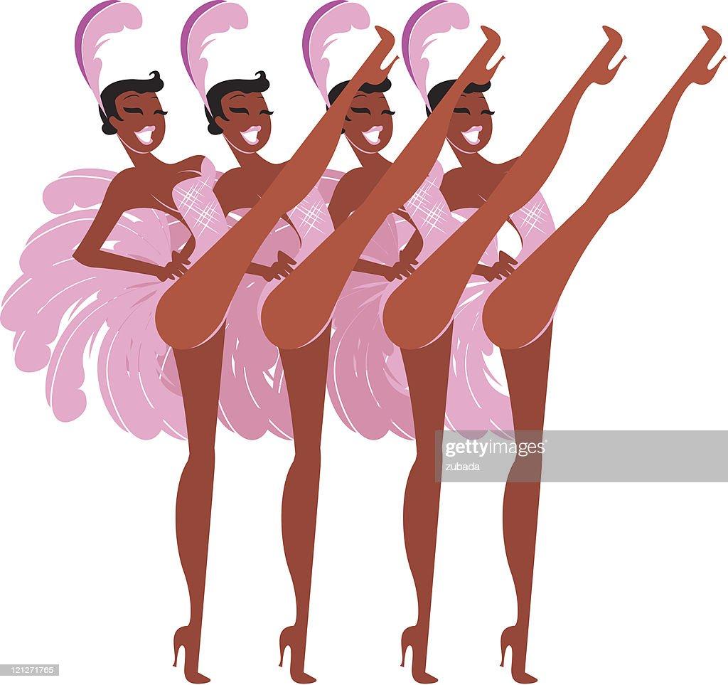 Cabaret girls