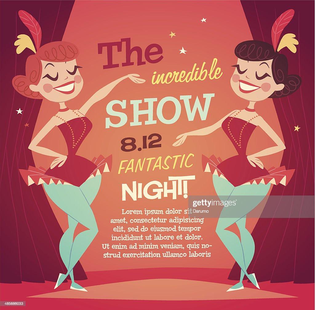 Cabaret Ladies poster