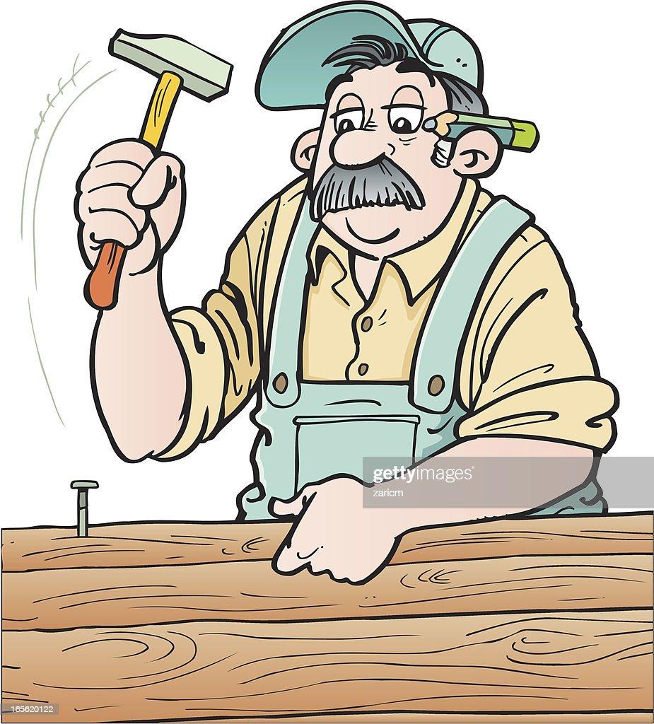 Cabinet Maker Clip Art
