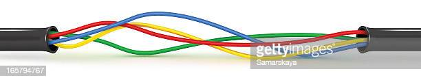 cable - cable stock illustrations, clip art, cartoons, & icons