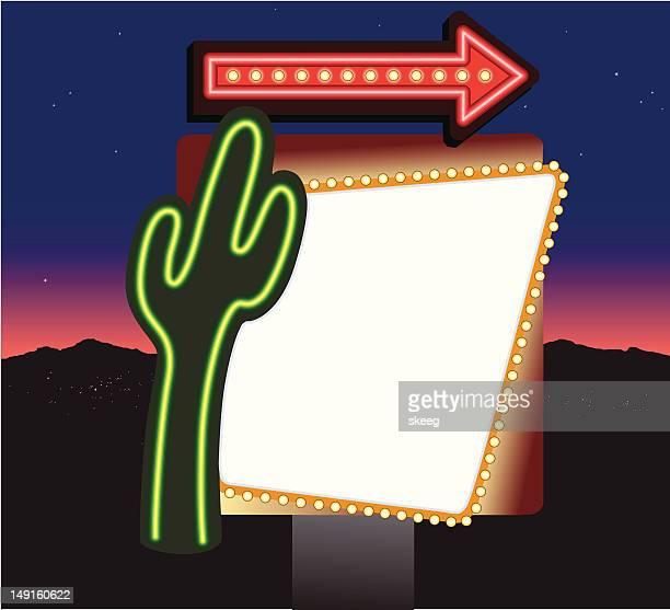 Cactus Motel Sign