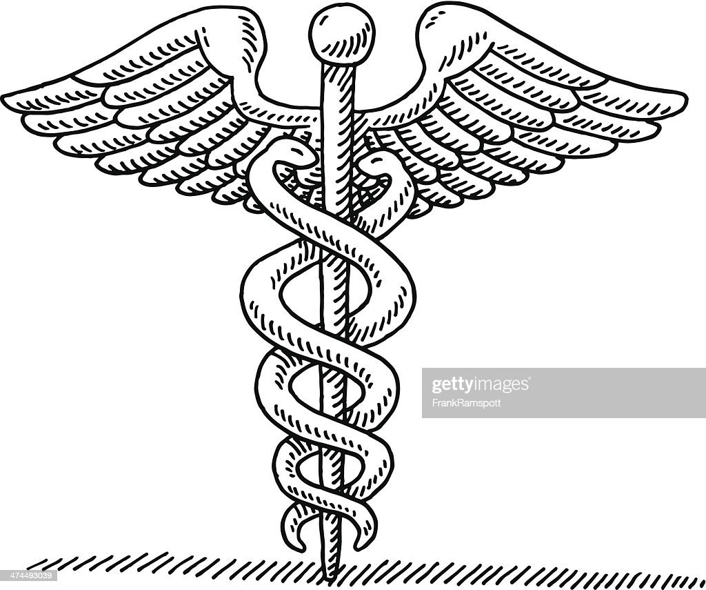 Caduceus ancient greek symbol drawing vector art getty images caduceus ancient greek symbol drawing vector art buycottarizona