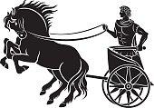 Caesar on horseback