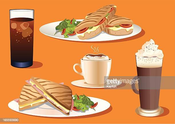 Café food