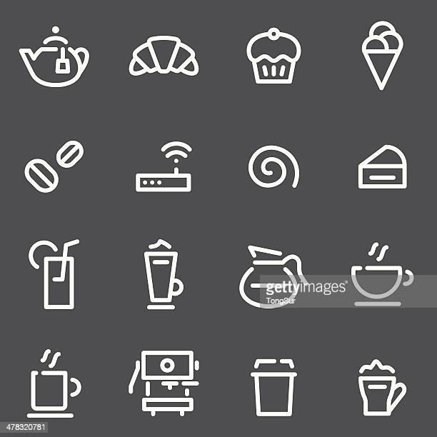 Café Icons - White Series