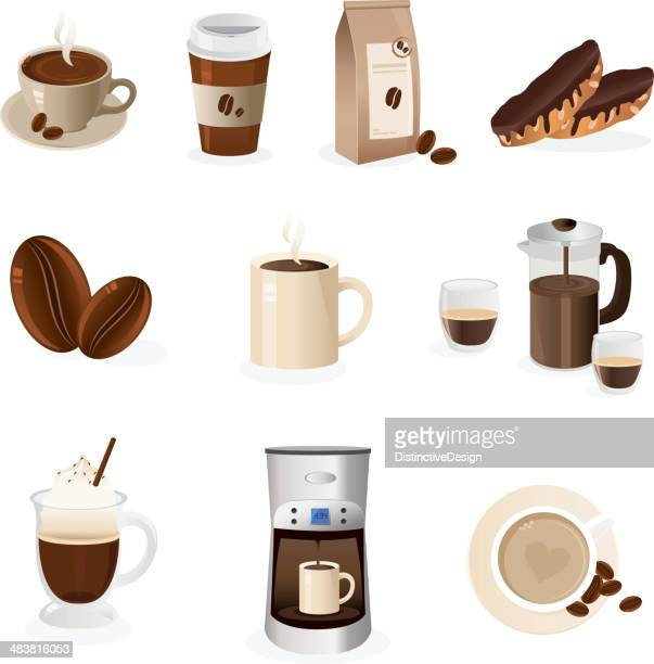 Cafe Icon Set