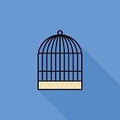 Cage Vector Flat Icon