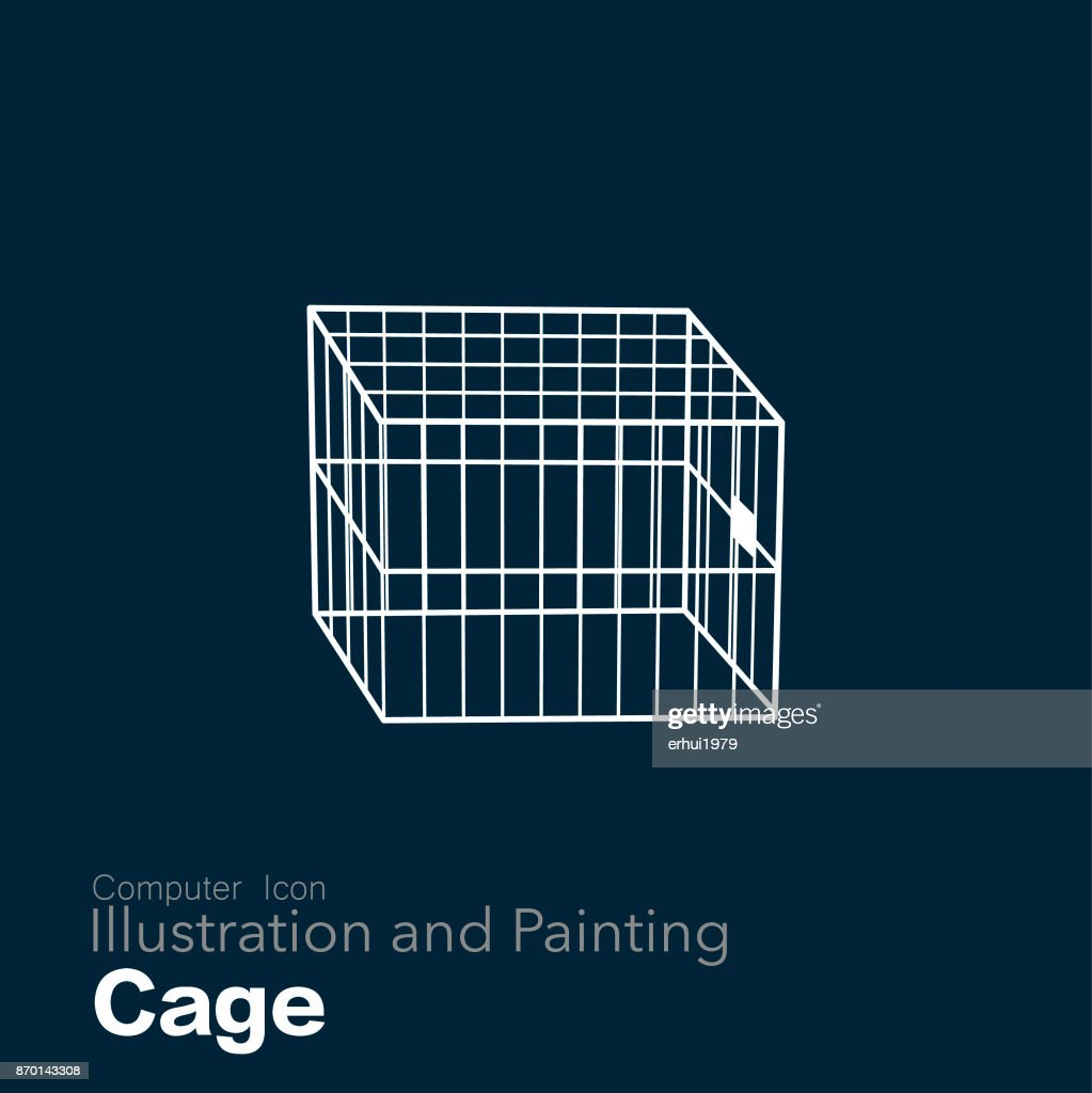 cage : stock illustration