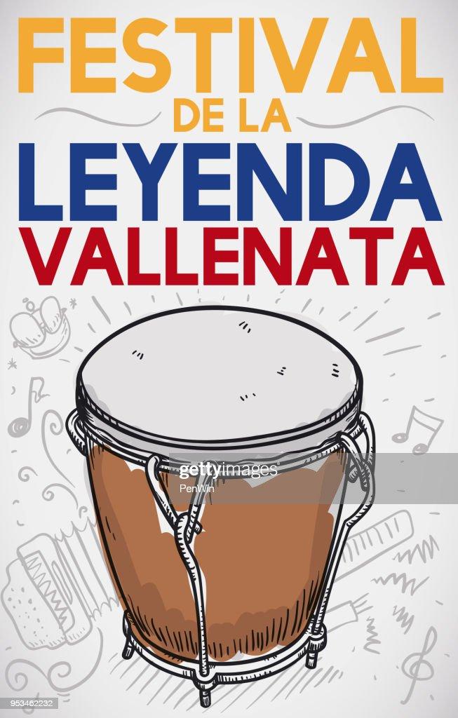Caja Vallenata and Doodles to Celebrate in Vallenato Legend Festival