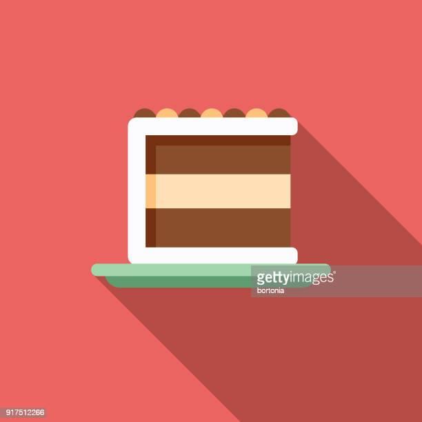 ケーキ フラット デザイン ベーキング アイコン