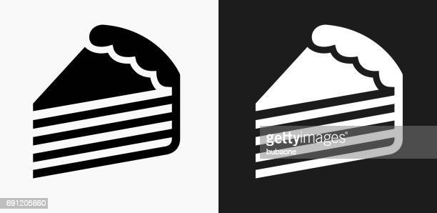 Image Of Cake Black And White Logo
