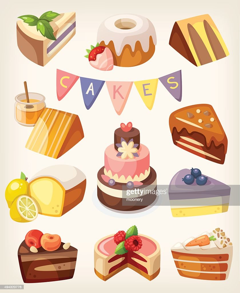 Cakes nd pies