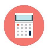 Calculator Colored Vector Icon
