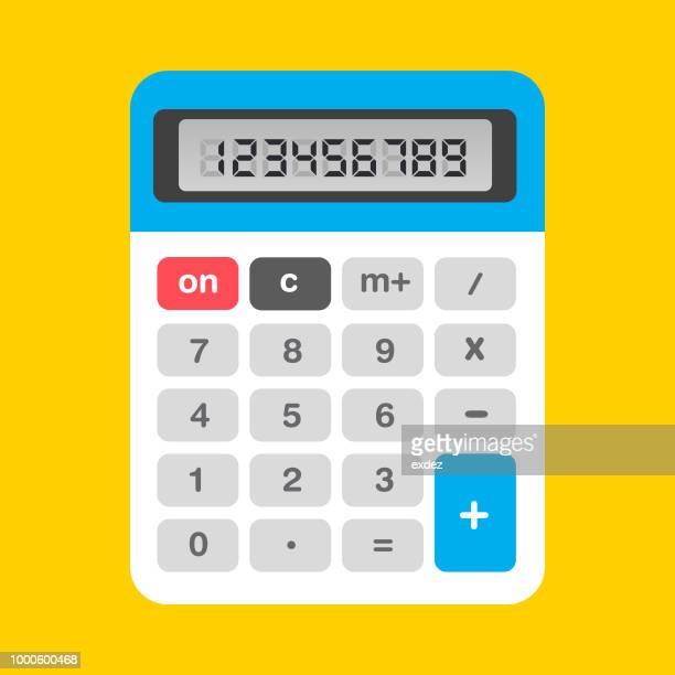 calculator icon - calculator stock illustrations