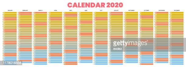 illustrations, cliparts, dessins animés et icônes de calendrier 2020 - mois de mai