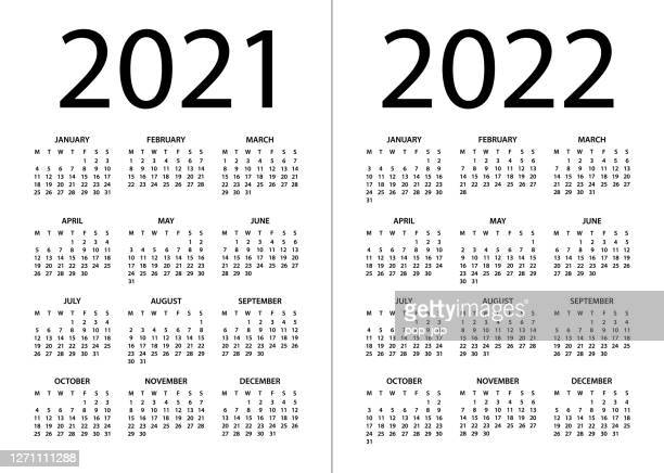 Uw 2021-2022 Calendar 4,899 2022 High Res Illustrations   Getty Images