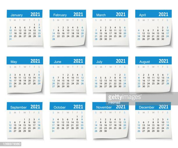 calendar 2021 vector design template week start on sunday, isolated on a white background. calendar paper leaf. - 2021 stock illustrations
