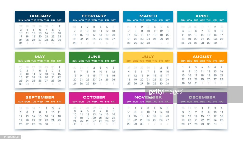 Calendar 2021 High-Res Vector Graphic - Getty Images