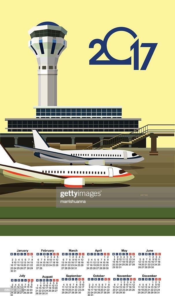 Calendar Airport