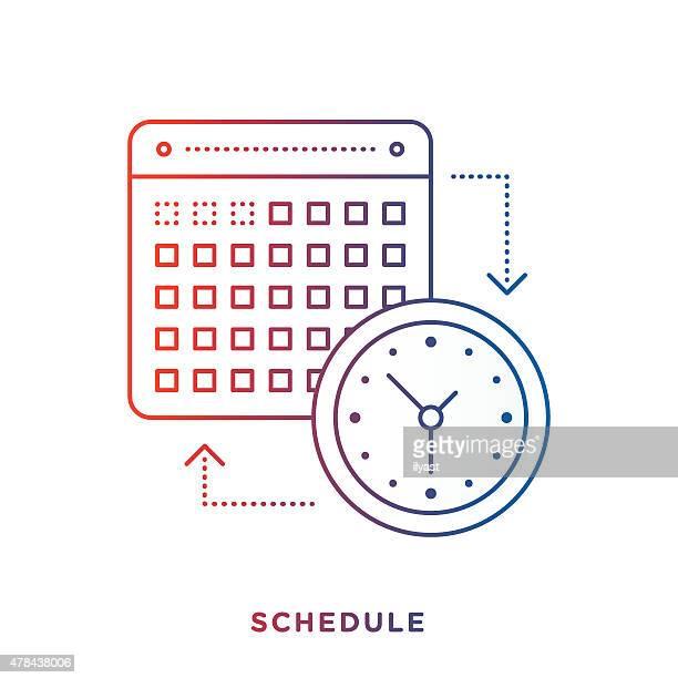 Kalender und-Symbol