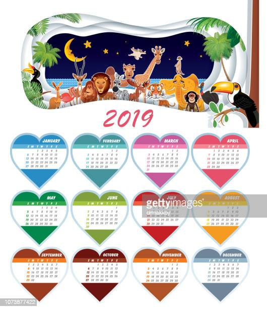 Calendar Funny Animals