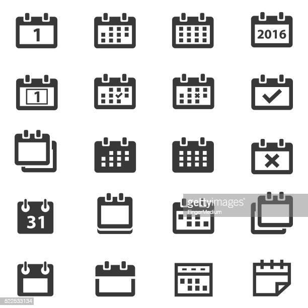 Kalender-icons set