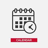 Calendar single icon