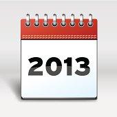 Calendar with 2013