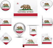 Califonia Flag Collection