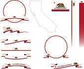 California Banner Set