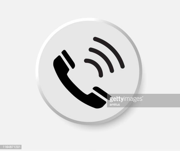 call button - answering machine stock illustrations, clip art, cartoons, & icons