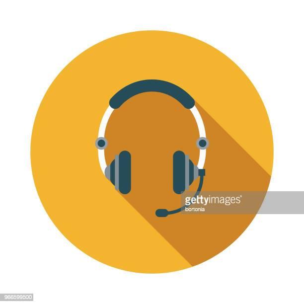 illustrazioni stock, clip art, cartoni animati e icone di tendenza di icona dei servizi di emergenza per la progettazione piatta del call center - call center