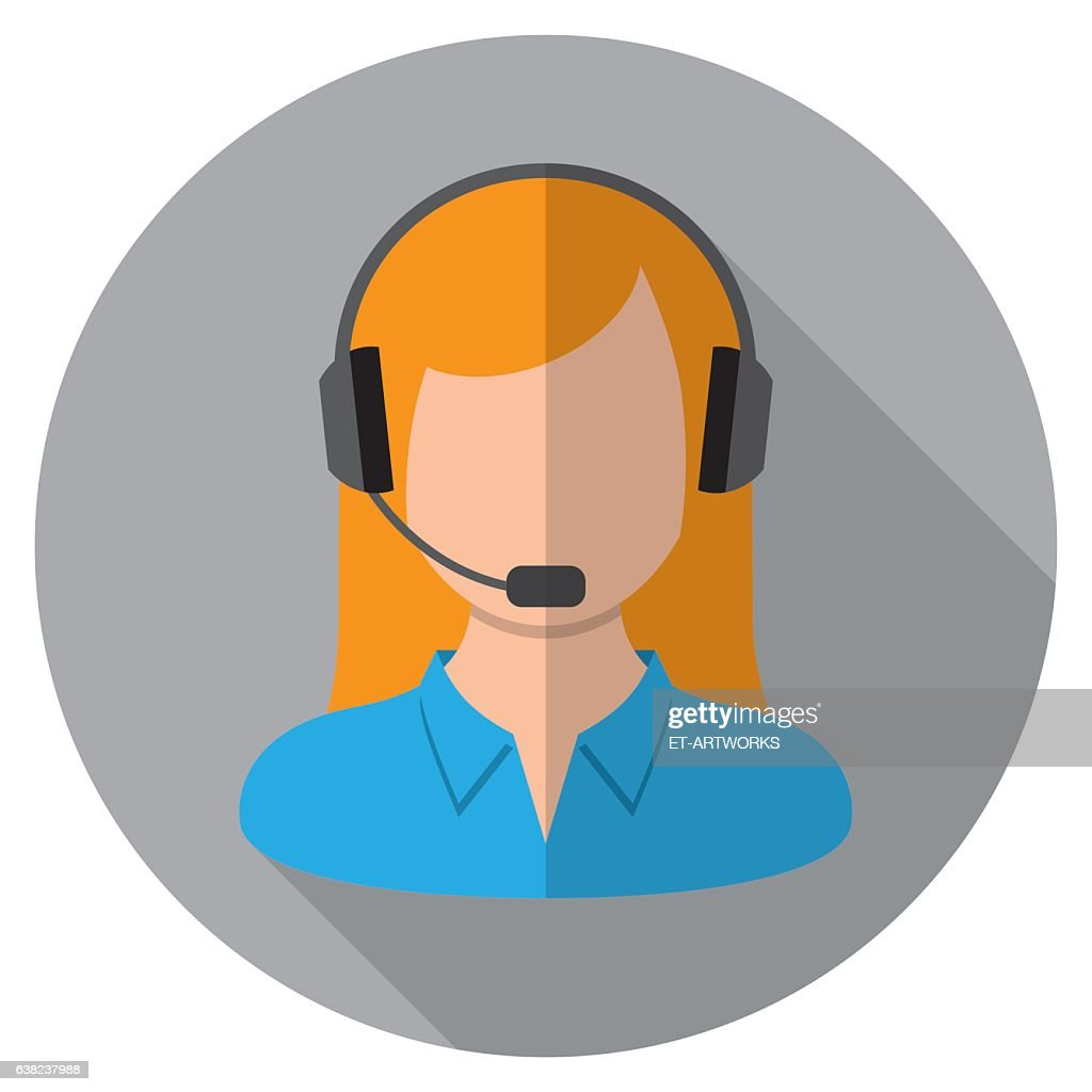 Call Center Icon : stock illustration