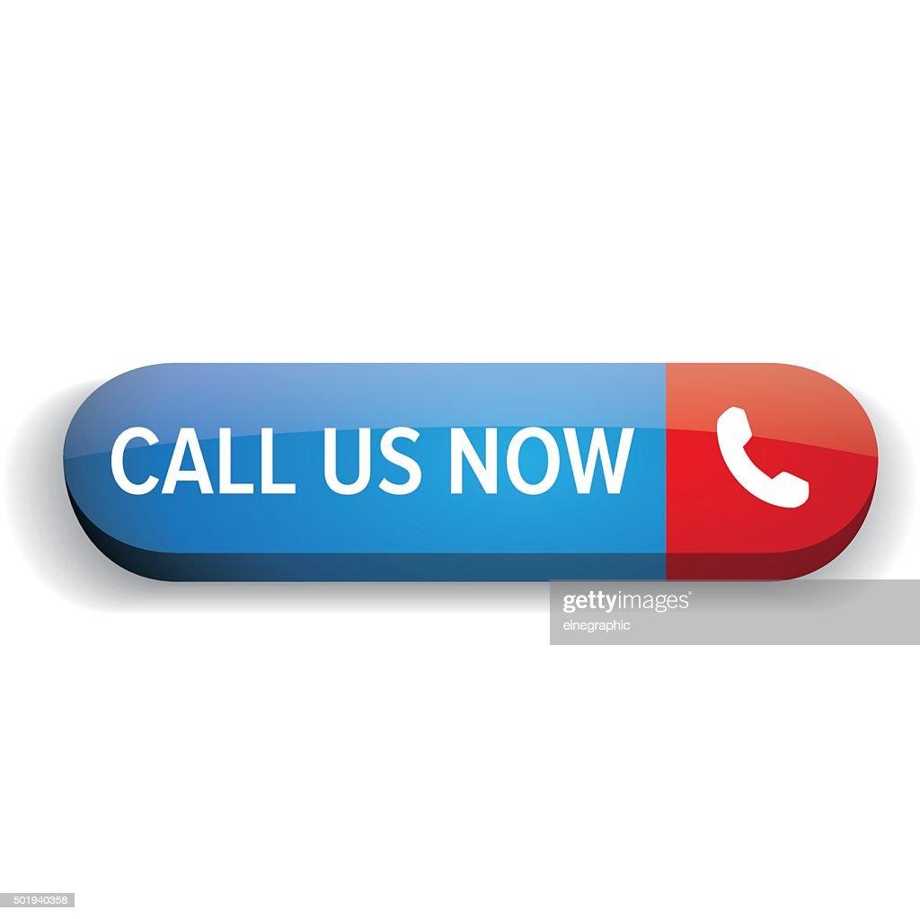 Call us now button vector
