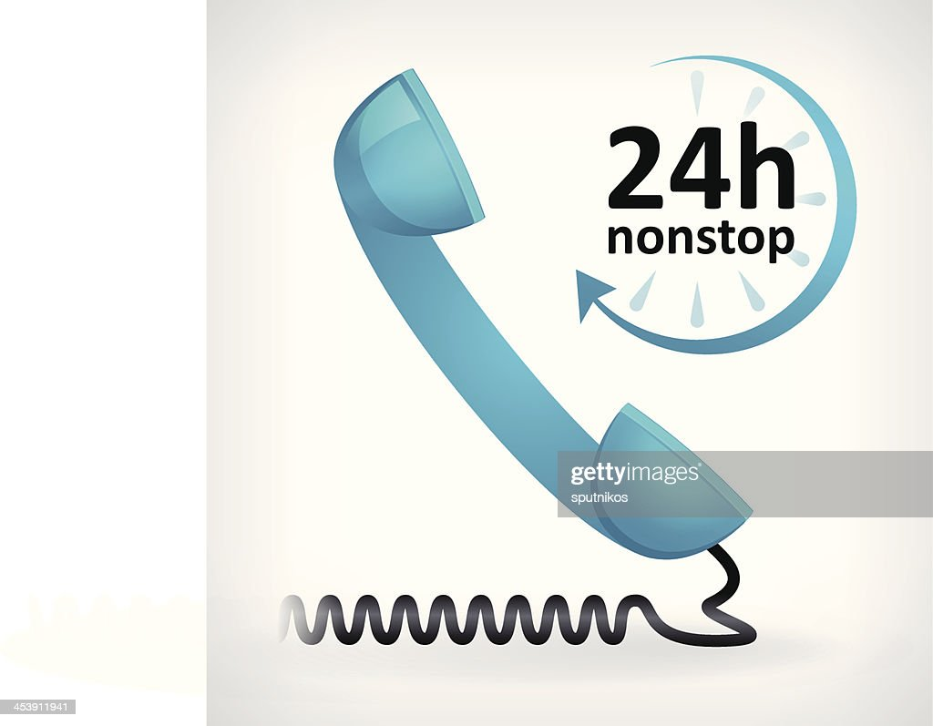 call us twenty four hours nonstop icon
