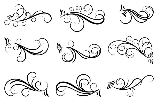 Free Ornate Flourish Line Art Images Pictures And Royalty Free Stock Photos Freeimages Com