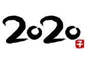 Calligraphy of 2020(Year of the mouse)