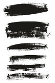 Calligraphy Paint Brush Background Mix High Detail Abstract Vector Background Set 120