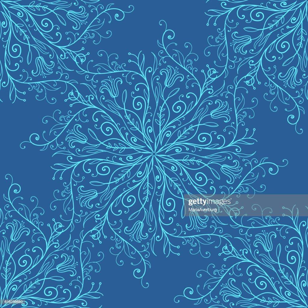 Calligraphy penmanship decorative seamless background. Vector illustration : Arte vetorial