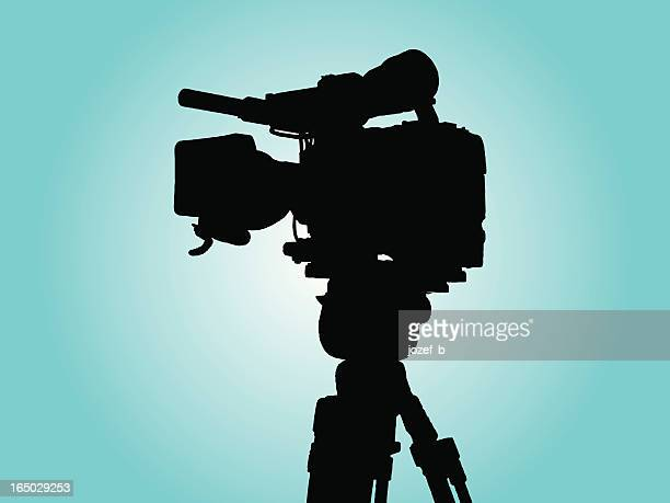 tv- cam 3 vector with alphachannel for picture 469278 - video camera stock illustrations, clip art, cartoons, & icons