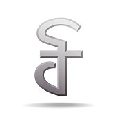 Cambodian riel currency symbol