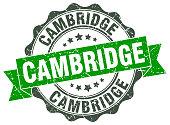 Cambridge round ribbon seal