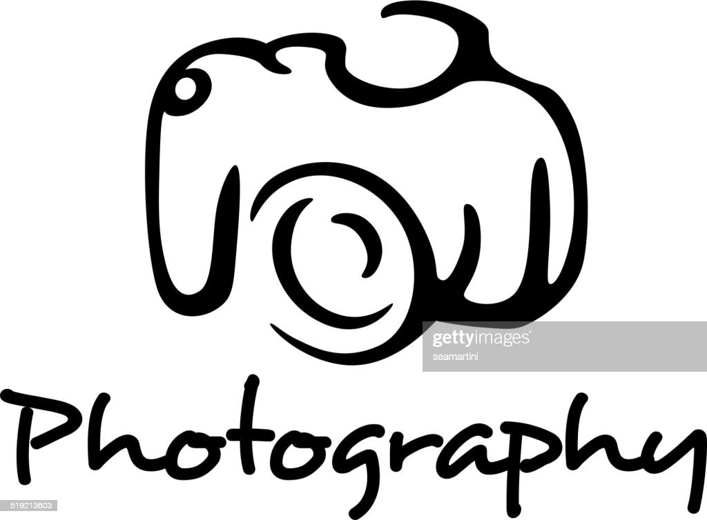 Camera and photography emblem