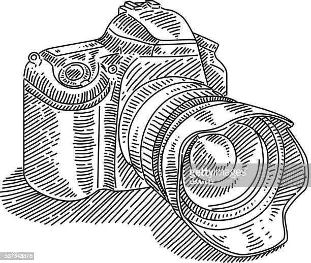 DSLR Camera Drawing