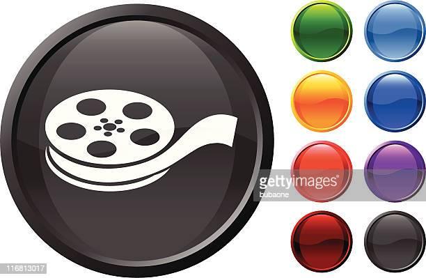 ilustraciones, imágenes clip art, dibujos animados e iconos de stock de película acceso a internet de alta velocidad de arte vectorial sin royalties de - rollo de cine
