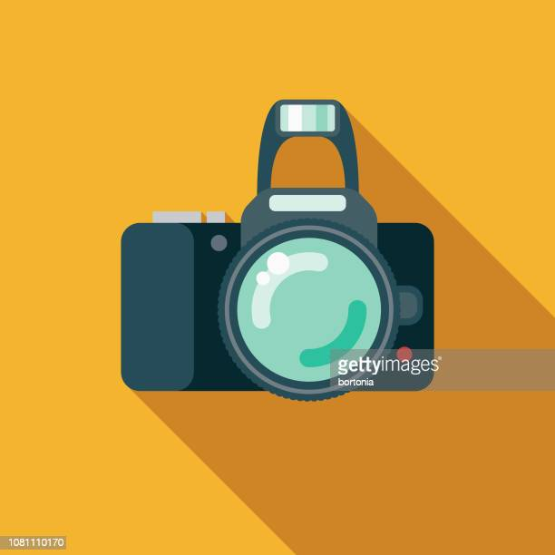 Camera Flat Design Appliance Icon