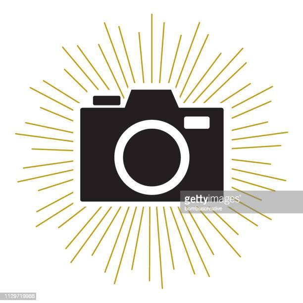 カメラ アイコン シルエット - コンピュータカメラ点のイラスト素材/クリップアート素材/マンガ素材/アイコン素材