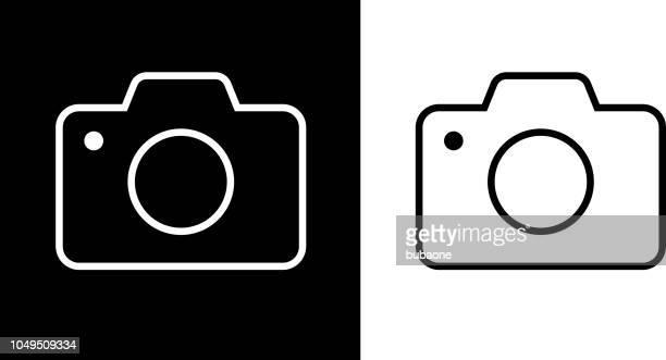 illustrazioni stock, clip art, cartoni animati e icone di tendenza di icona fotocamera - fotografia immagine