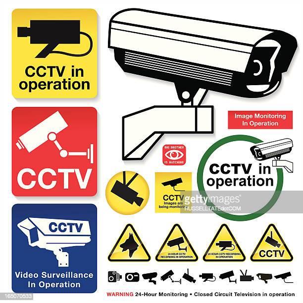 CCTV Camera Icons